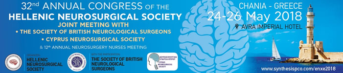 32nd Annual Congress of the Hellenic Neurosurgical Society